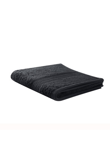 Taç TaÇ Pure Pamuklu 85X140Cm Basic Desenli Banyo Havlusu Siyah